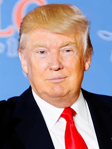 wie is donald trump