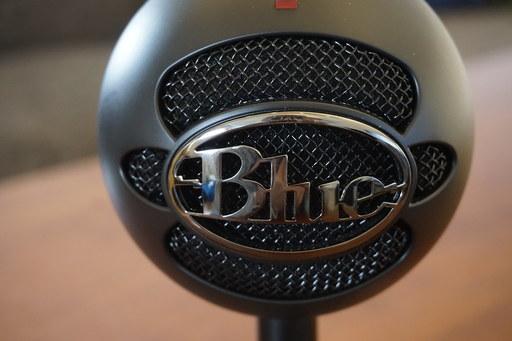 blue snowball ice microfoon