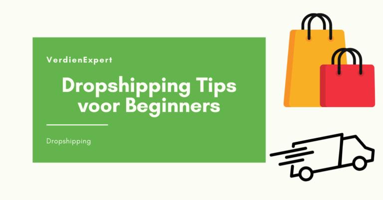 dropshipping tips voor beginners